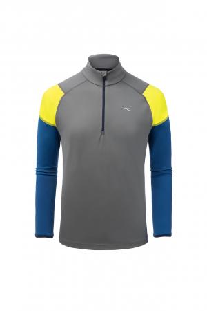 Funkčné oblečenie KJUS Men Race Halfzip Steel Grey-Southern Blue