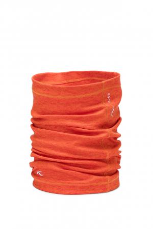 Lyžiarsky nákrčník KJUS Unisex KJUS Neckwarmer Kjus Orange Melange