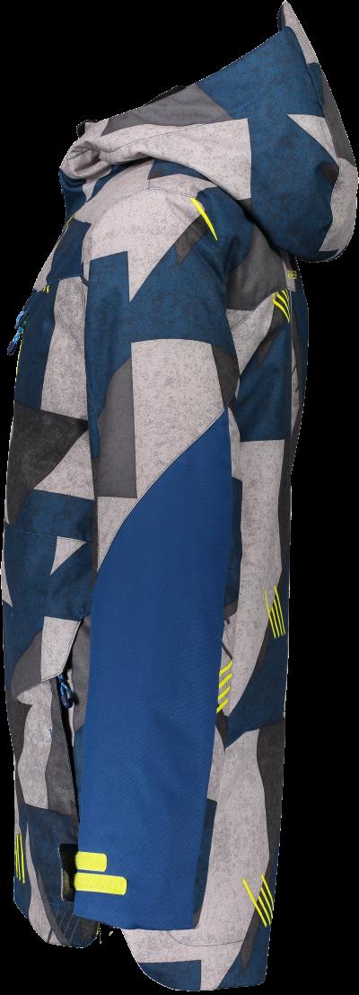 Detská lyžiarska bunda Obermeyer Gage Jacket Teen Boys retro graphics blues