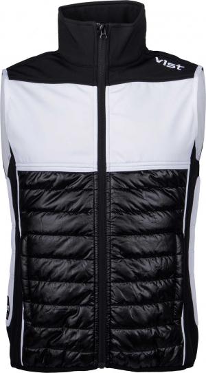 Funkčné lyžiarske oblečenie Vist Olimpia Softshell Vest Unisex black/black/white