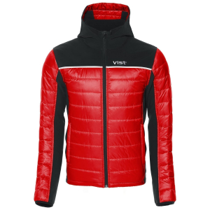 Detská lyžiarska bunda Vist Dolomitica Ins. Softshell Jacket Junior ruby/black/white