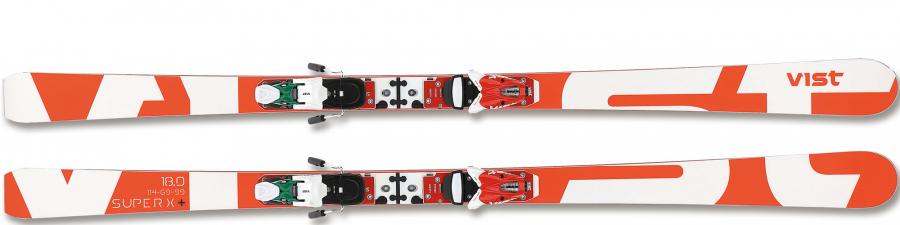 Lyže Vist Scuderia SuperX+ SLOCKRA1915 + VPA614SL ITA