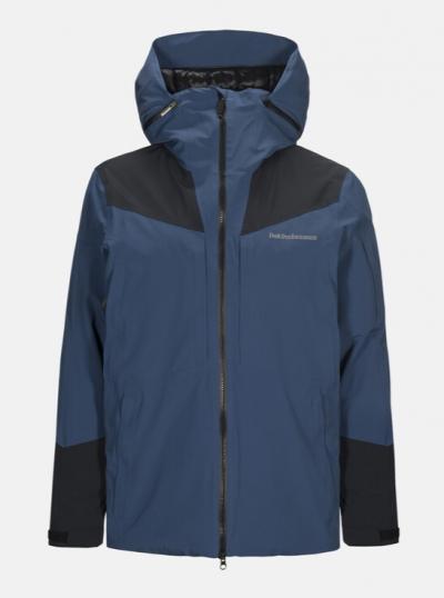 Lyžiarska bunda Peak Performance Velaero Core Jacket decent blue