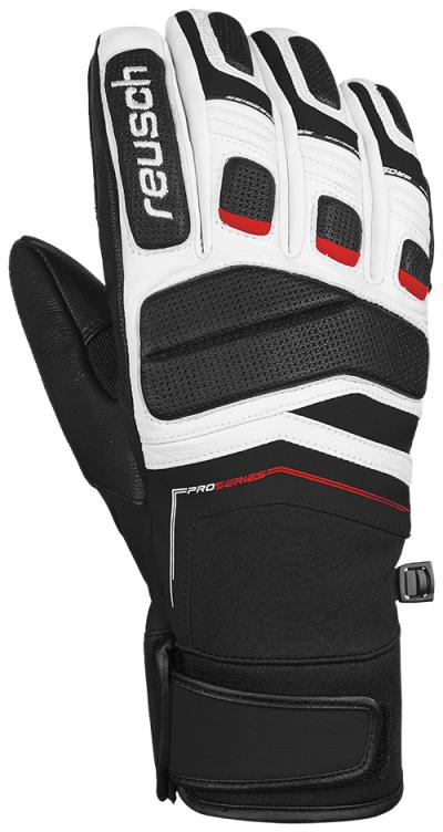 Lyžiarske rukavice Reusch Profi SL bk/fire red