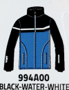 Detská lyžiarska bunda Vist Icestorm Ins. Ski Jacket Junior black/water/white