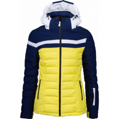 Lyžiarska bunda Vist Ice Storm Down deep ocean/corn/white