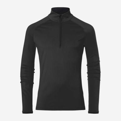 Lyžiarske funkčné oblečenie KJUS Men Feel Midlayer Half-Zip black