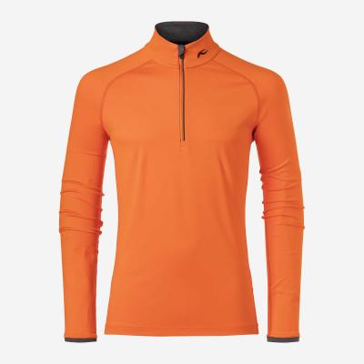 Lyžiarske funkčné oblečenie KJUS Men Feel Midlayer Half-Zip kjus-orange