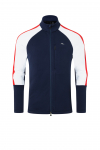 Lyžiarska flísová mikina KJUS Men Formula Midlayer Jacket atlanta-scarlet
