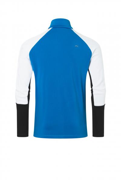 Lyžiarska flísová mikina KJUS Men Formula Midlayer Jacket aruba-blue