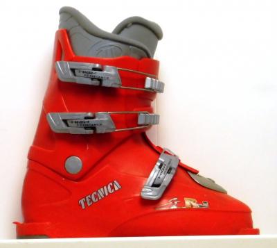 Detské lyžiarky BAZÁR Tecnica RJ3 red 245