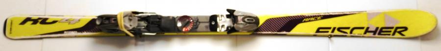 Detské lyže BAZÁR Fischer RC4 yellow 150 cm