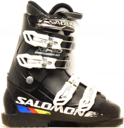 Detské lyžiarky BAZÁR Salomon X3-60 Energyzer 230