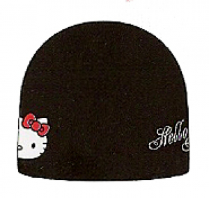 Lyžiarska čiapka HELLO KITTY Basic black
