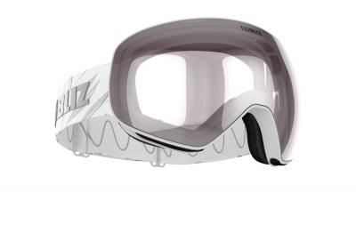 Lyžiarske okuliare Bliz Floz matt wh/pink w silver mirror cat.2