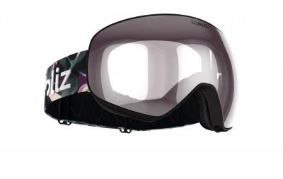 Lyžiarske okuliare Bliz Floz matt bk/pink w silver mirror cat.2