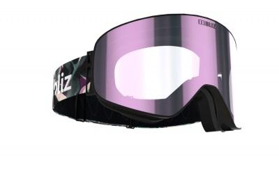 Lyžiarske okuliare Bliz Flow matt bk/brown w ice pink multi cat.3