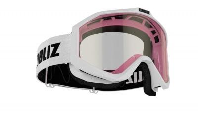 Detské lyžiarske okuliare Bliz Liner jr. matt white/pink cat. 1