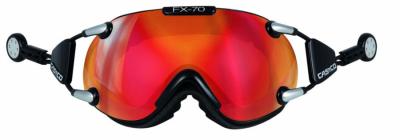 Lyžiarske okuliare Casco FX 70L Carbonic bk-red