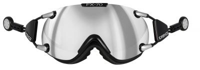 Lyžiarske okuliare Casco FX 70 Carbonic black silver
