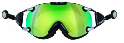 Lyžiarske okuliare Casco FX 70L Carbonic bk-green