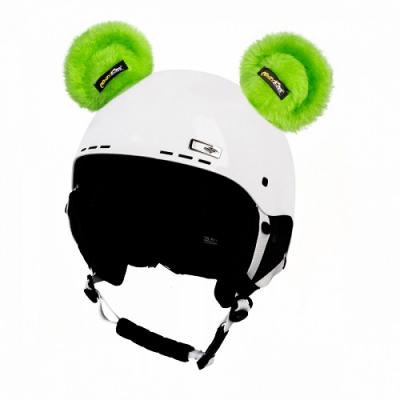 Nalepovacie uši CRAZY EARS green bear