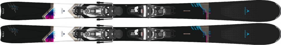 Lyže Dynastar Intense 4X4 82 PRO Konect + NX 12 KONECT GW B90 BLACK SPARKLE