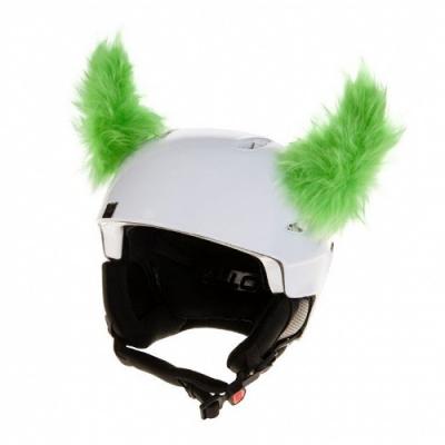 Nalepovacie uši CRAZY EARS green horns