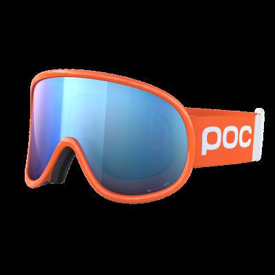 Lyžiarske okuliare POC Retina Big Clarity Comp fluorescent orange/spektris blue