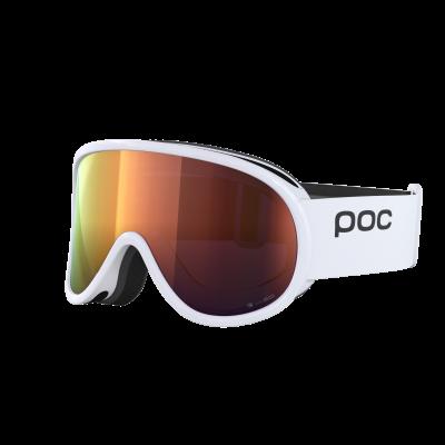 Lyžiarske okuliare POC Retina Clarity hydrogen white/spektris orange