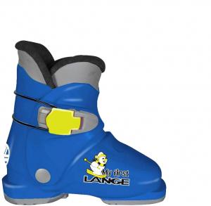 Detské lyžiarky Lange My First Lange speed blue