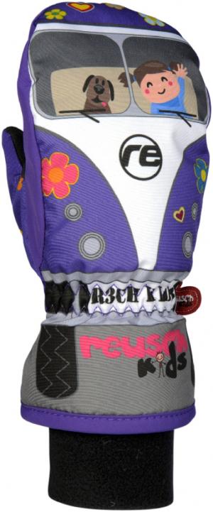 Detské lyžiarske rukavice Reusch Bulli R-Tex XT Junior Mitten -passion flower