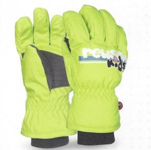 Detské lyžiarske rukavice Reusch Kids -green