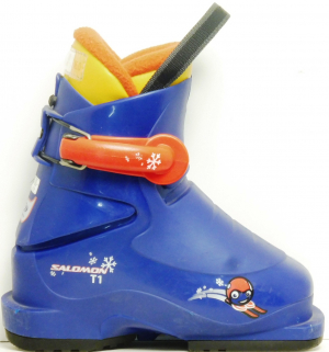 Detské lyžiarky BAZÁR Salomon Blue 1 155