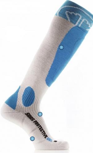 Lyžiarske termoponožky Socks protective gel