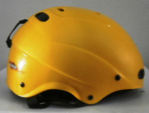 Lyžiarska prilba BAZÁR Decaf Yellow 56