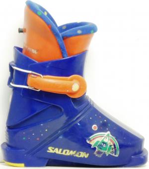 Detské lyžiarky BAZÁR Salomon Blue 160