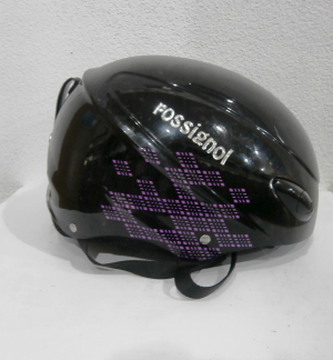 Lyžiarska prilba BAZÁR Rossignol black/purple 56