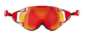 Lyžiarske okuliare Casco FX70 Carbonic red