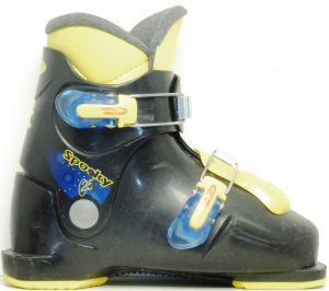 Detské lyžiarky BAZÁR Spocky Black 220