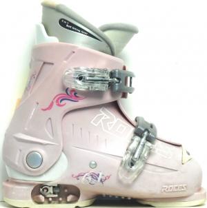 Detské lyžiarky BAZÁR Roces Pink 190-220