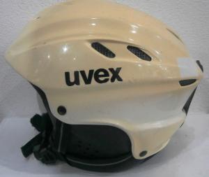 Lyžiarska prilba BAZÁR Uvex White 56 58 eedfd70b213