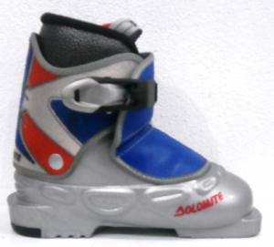 Detské lyžiarky BAZÁR Dolomite Silver 150
