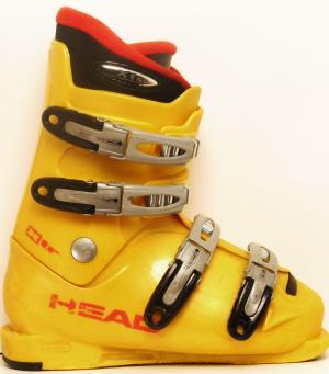Detské lyžiarky BAZÁR Head Yellow XTR 235