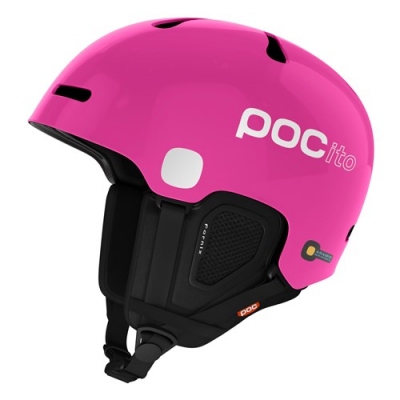 Detská lyžiarska prilba POCito Fornix Fluorescent Pink