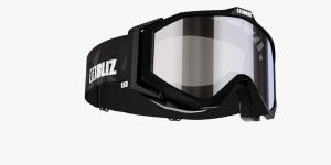Lyžiarske okuliare Bliz Edge OTG Black Orange w Silver Mirror