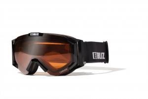 Detské lyžiarske okuliare Bliz Carver JR OTG Black Orange
