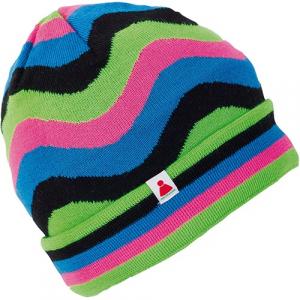 Lyžiarska čiapka Sionyx WavesManiaNEON (2/1) neon-pink/green/black/blue