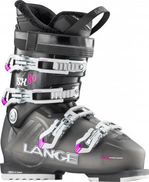 Lyžiarky Lange SX 80 W tr. anthracite magenta