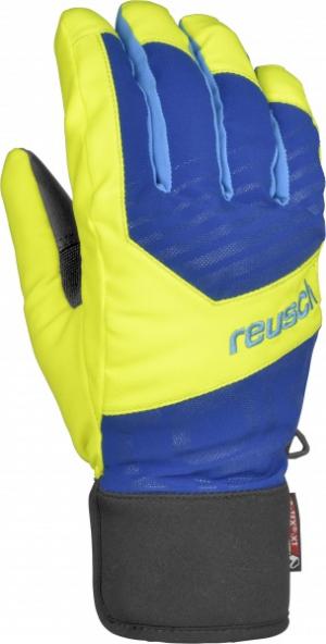 Lyžiarske rukavice Reusch Torbenius R-TEX XT blue/yellow